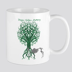 Green Celtic Tree of Life Mugs